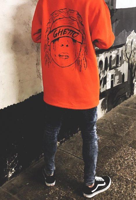 Pánska mikina ghetto